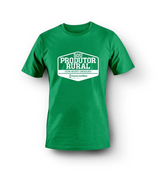 Camiseta Masculina Verde