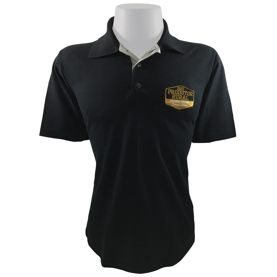 Polo Black&Gold Masculina