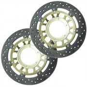 Discos de Freio CBR600F 2011 a 2012 - Dianteiro Par