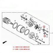 Escova de Arranque CBR500R CB500F CB500X CBR650F CB650F - OEM 31201-MEW-921