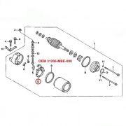 Escova de Arranque CBR600 CBR900 CBR1000 CB1000R - OEM 31206-MBE-008
