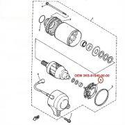 Escova de Arranque FZR1000 e XJ600 - OEM 3KS-81840-00-00