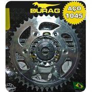 Kit Relação - Coroa e Pinhão - Ducati Monster 696 - 2008 a 2014