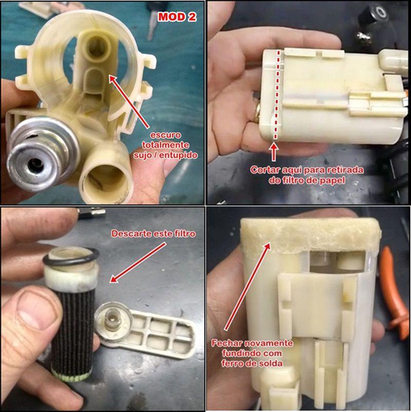 Bomba De Combustível Gasolina - Kawasaki Versys 1000