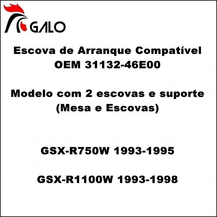 Escova de Arranque GSXR750W 93-95 GSXR1100W 93-98  - OEM 31132-46E00