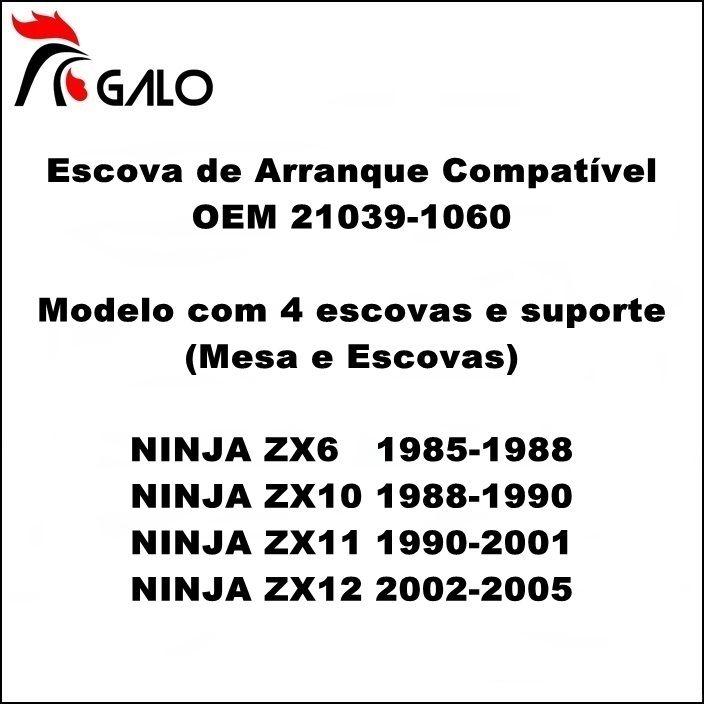 Escova de Arranque Ninja ZX6 ZX10 ZX11 ZX12 - OEM 21039-1060