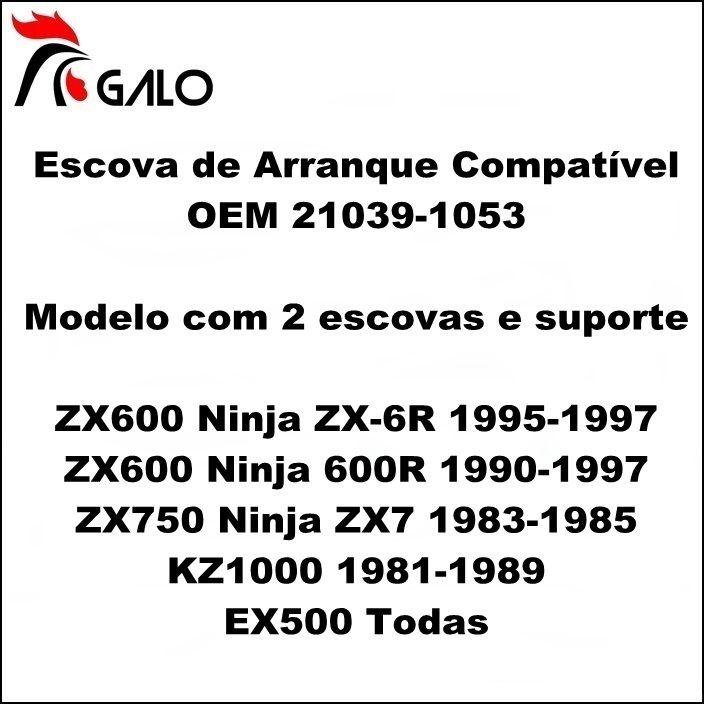 Escova de Arranque NINJA ZX6R ZX7 KZ 1000 - OEM 21039-1053