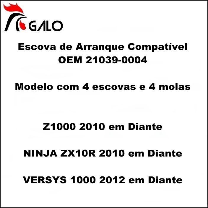 Escova de Arranque Versys 1000 Ninja ZX10 Z1000 - OEM 21039-0004