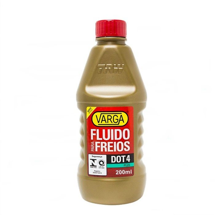 Fluído de Freio DOT4 Plus 200 ml - Varga