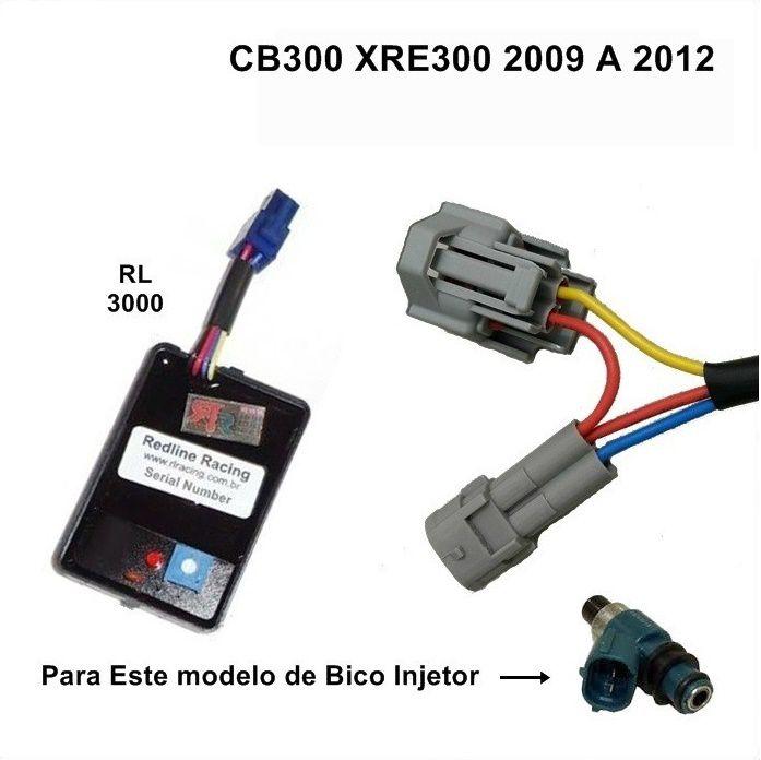 Módulo de Potência - Honda CB300 XRE300 2009-2012 CBR250R - Redline
