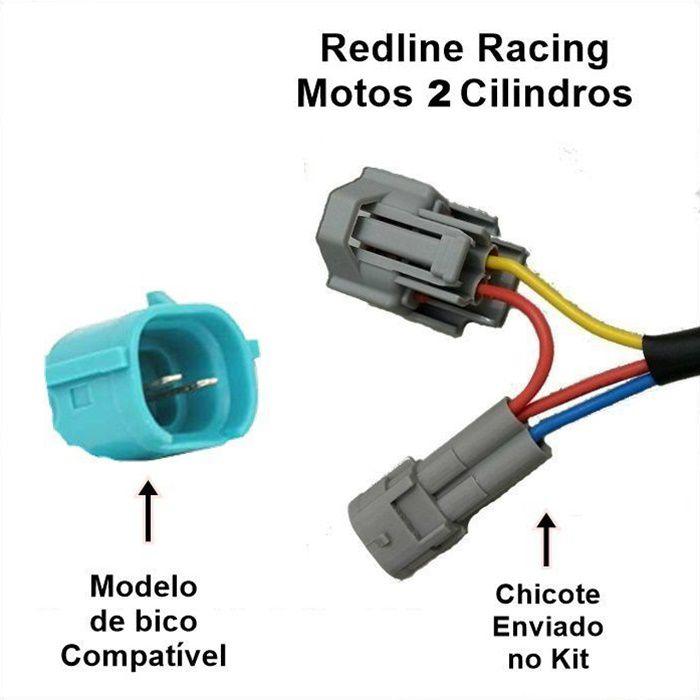 Módulo de Potência Redline Racing - Ninja 250 e Ninja 300