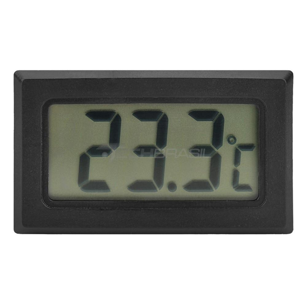 10x Termômetro Digital - Aquário Freezer Estufa Prova D'agua