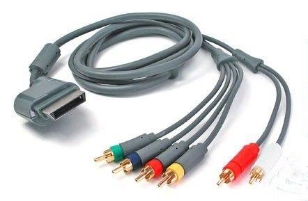 Cabo Audio E Video Componente Xbox 360 - Xbox360 Hdtv