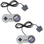 2 Controle Para Super Nintendo Joystick Snes