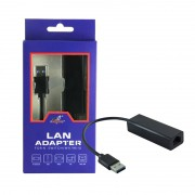 Adaptador De Rede Usb Nintendo Switch, Wii, Wii U - Pc Preto