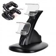 Carregador Duplo P/ Controle Playstation 4 DualSchok 4 Base