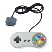 Controle Para Super Nintendo Joystick Snes - Botão Colorido