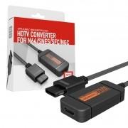 Conversor HDMI Para Nintendo 64 Super Nintendo GameCube SFC