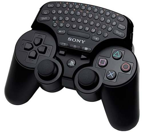 Teclado Sem Fio Playstation 3 Original Sony Wireless Keypad
