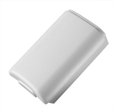 Suporte De Pilhas Controle Xbox 360 Tampa De Bateria Branca