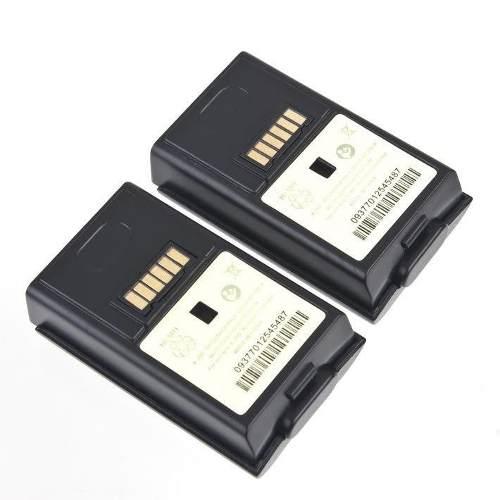 Carregador Duplo + 2 Baterias Xbox 360 Base Bivolt Preta