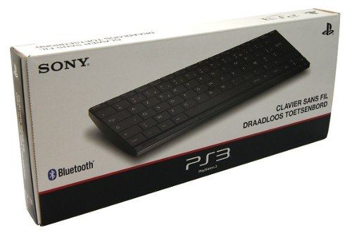 Teclado Sem Fio Playstation 3 Play 4 Original Sony Wireless