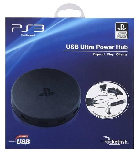 Hub Usb 4 Entradas Original Sony Playstation 3 Playstation 4