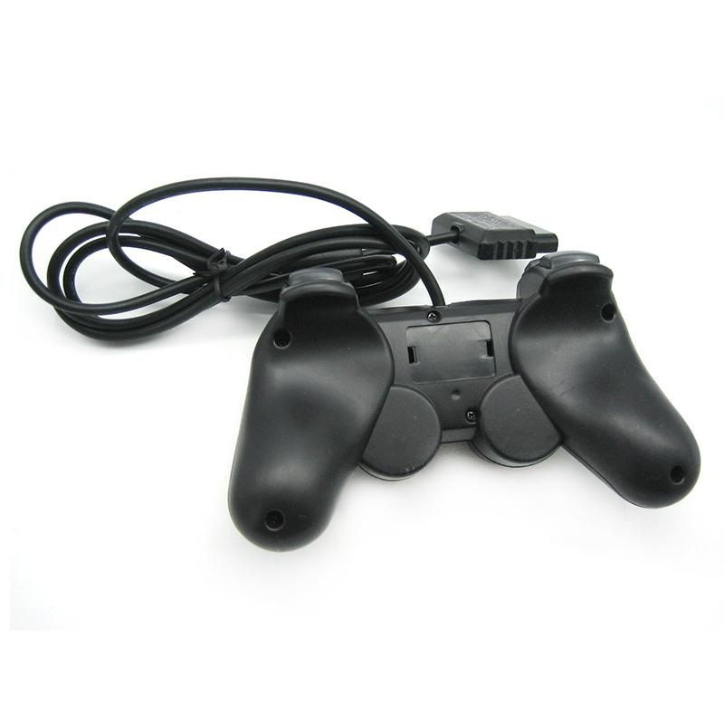 2 Controle Playstation 2 Dualshock 2 Ps2 Slim Joystick Preto