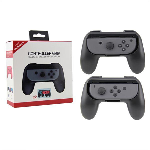 2x Grip Suporte De Controle Joy Con P/ Nintendo Switch Case