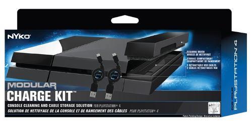 Nyko Modular Kit De Carga Cabo Carregador Ps4 Playstation 4