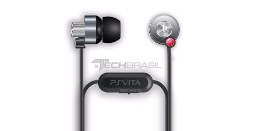Fone De Ouvido Original Ps Vita Sony Headset Ps4 Ps3 Celular