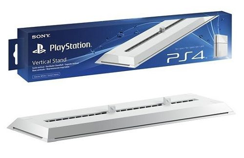 Base Vertical Stand Original Sony Playstation 4 Ps4 Branca