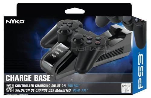 Nyko Charge Base Playstation 3 Carregador P/ Dualshock 3 Ps3