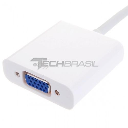 Cabo Adaptador Mini Displayport X Vga Macbook Pro Air Apple