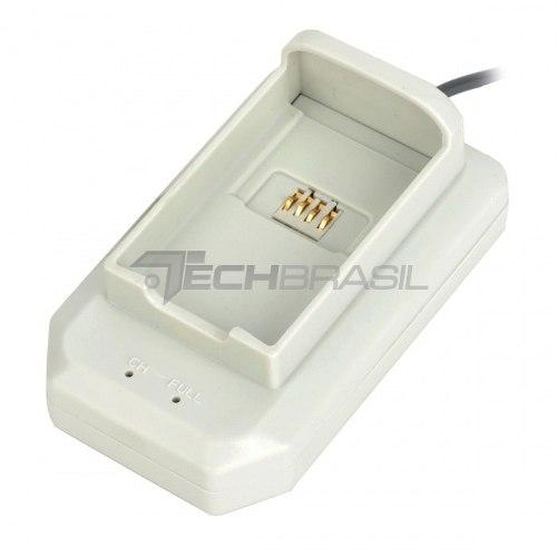 Carregador De Mesa Para Bateria Xbox 360 Usb - Branco