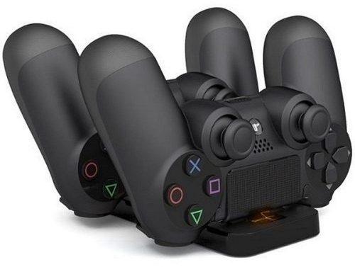Base Carregador Duplo Dock Charge P Controle Playstation Ps4