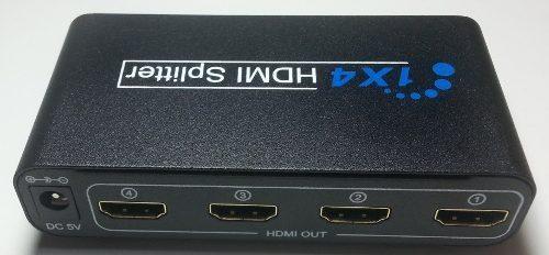 Divisor Hdmi 1 X 4 Hd 4 Saidas Multiplicador De Sinal 1080p