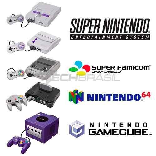 Cabo Áudio Vídeo Av Super Nintendo - Nintendo 64 - Game Cube