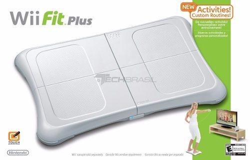 Wii Fit Plus Balance Board + Jogo Original Nintendo Wii