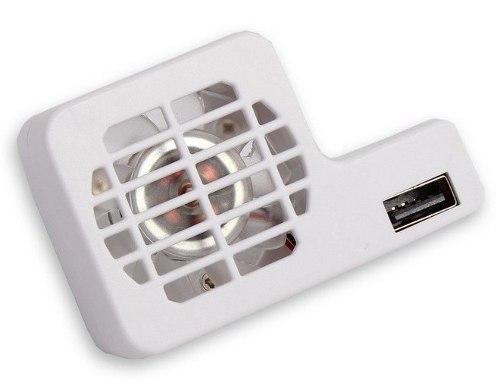 Cooler Usb Fan Exaustor De Calor Para Nintendo Wii U Branco