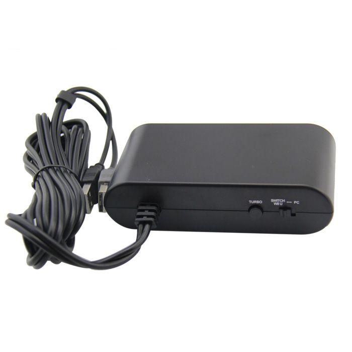 Adaptador De Controle Gamecube Para Nintendo Wii U 4 Portas