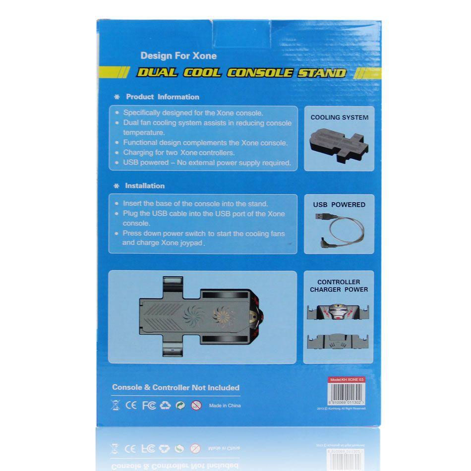 Base Suporte Cooler Xbox One Fat Carregador de Controle USB