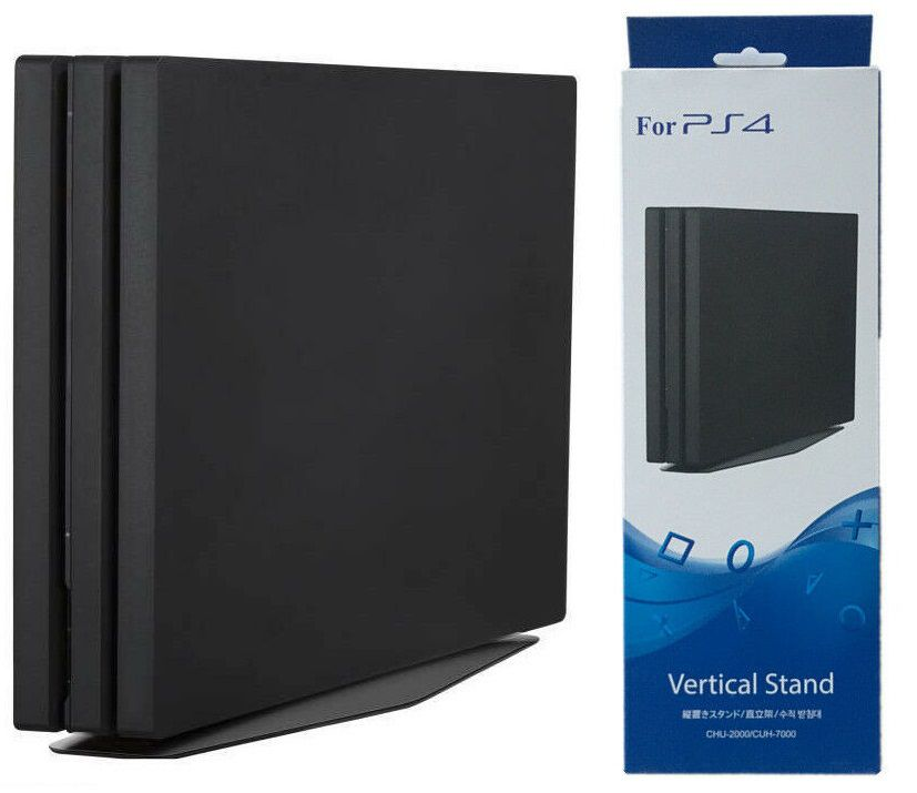 Base Suporte Vertical Stand P/ PlayStation 4 Slim e Pro PS4
