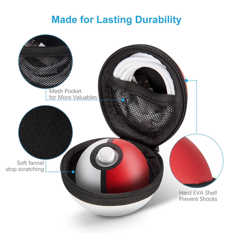 Capa De Transporte Estojo P/ Poke Ball Plus Nintendo Switch