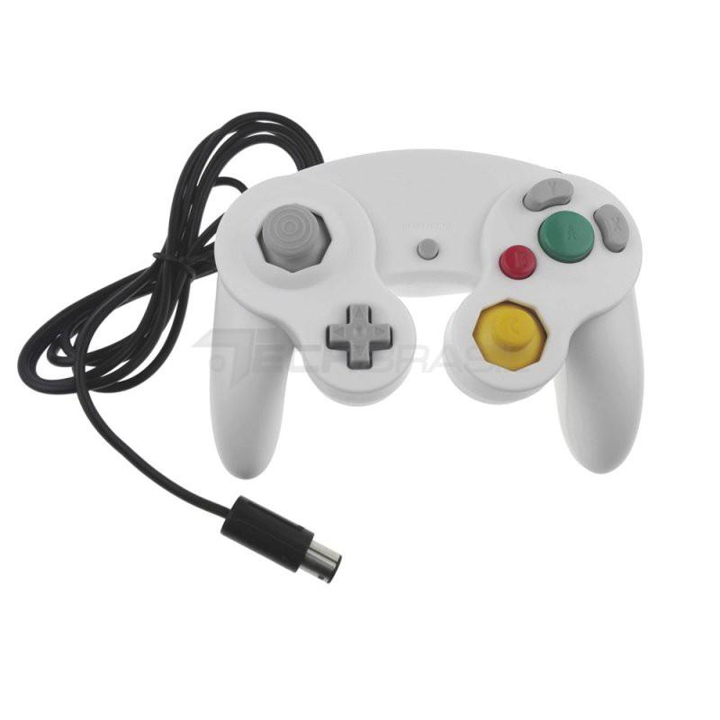 Controle Clássico Nintendo Wii Game Cube Wii U Classic Branco
