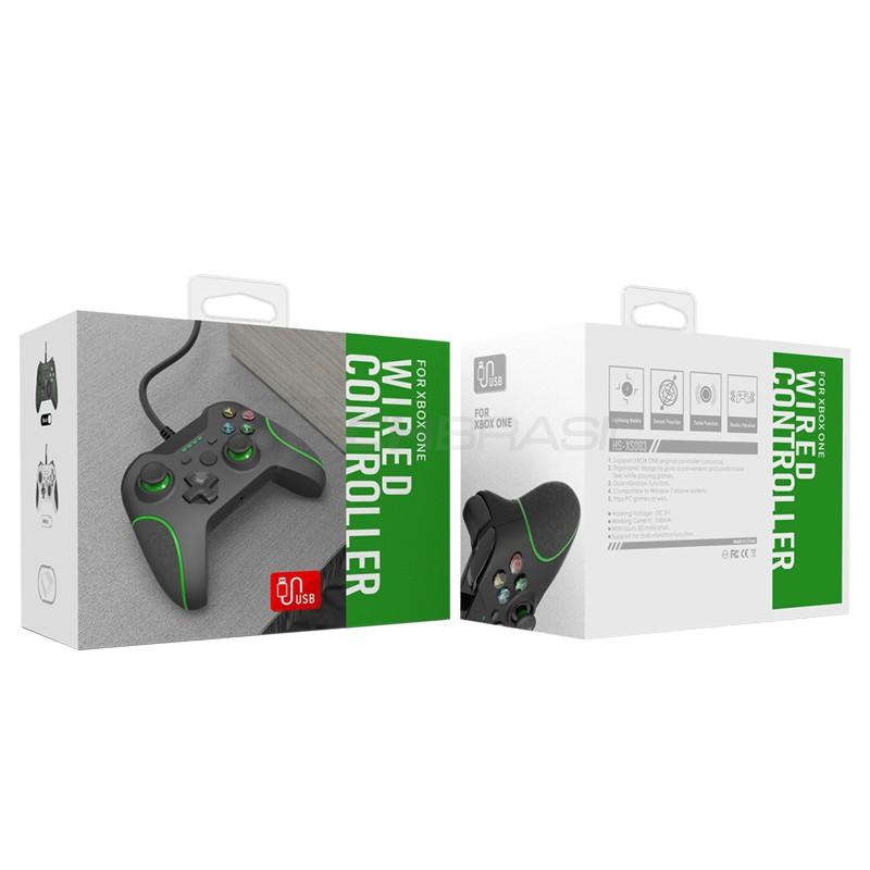 Controle Joystick USB Com Fio Xbox Box One Computador Preto