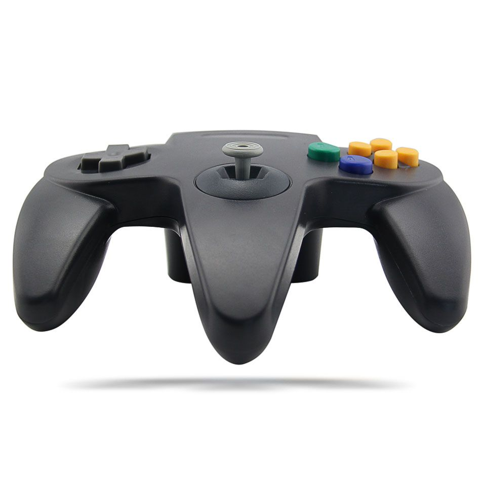 Controle Para Nintendo 64 Manete N64 Joystick Preto