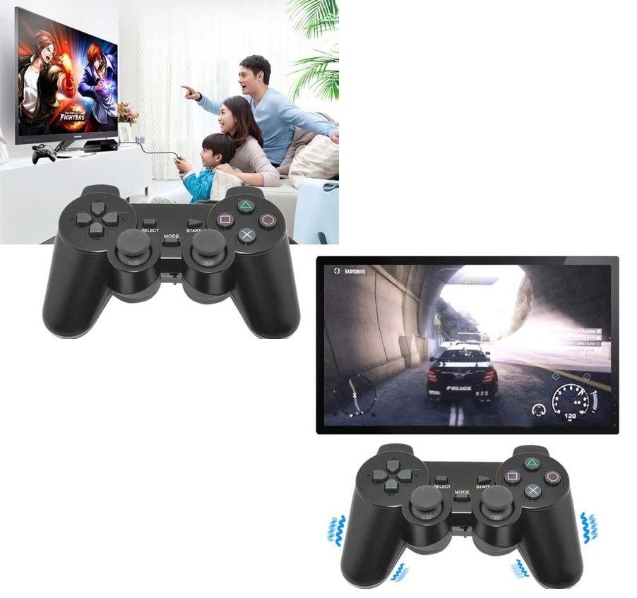 Controle Playstation 2 Dualshock 2 Ps2 Slim Joystick Preto