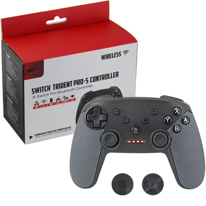 Controle Sem Fio Pro Para Nintendo Switch Bluetooth Turbo