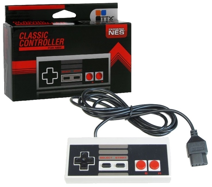Controle Ttx Clássico Nintendo Americano Nes 8 Bits